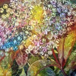 Milkweed Flower, 20x24, watercolor on canvas, ©2012 Helen Klebesadel