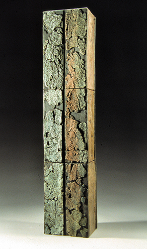 Corinne D. Peterson Retaining Wall I 26 x 5 x 4 inches, terra cotta clay, 2000 Value $950 www.cdpeterson.com