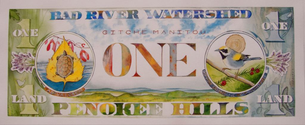 True Value, watercolor by Ann Singrass
