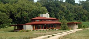 Wyoming Valley School Cultural Art Center, six miles from Spring Green, WI