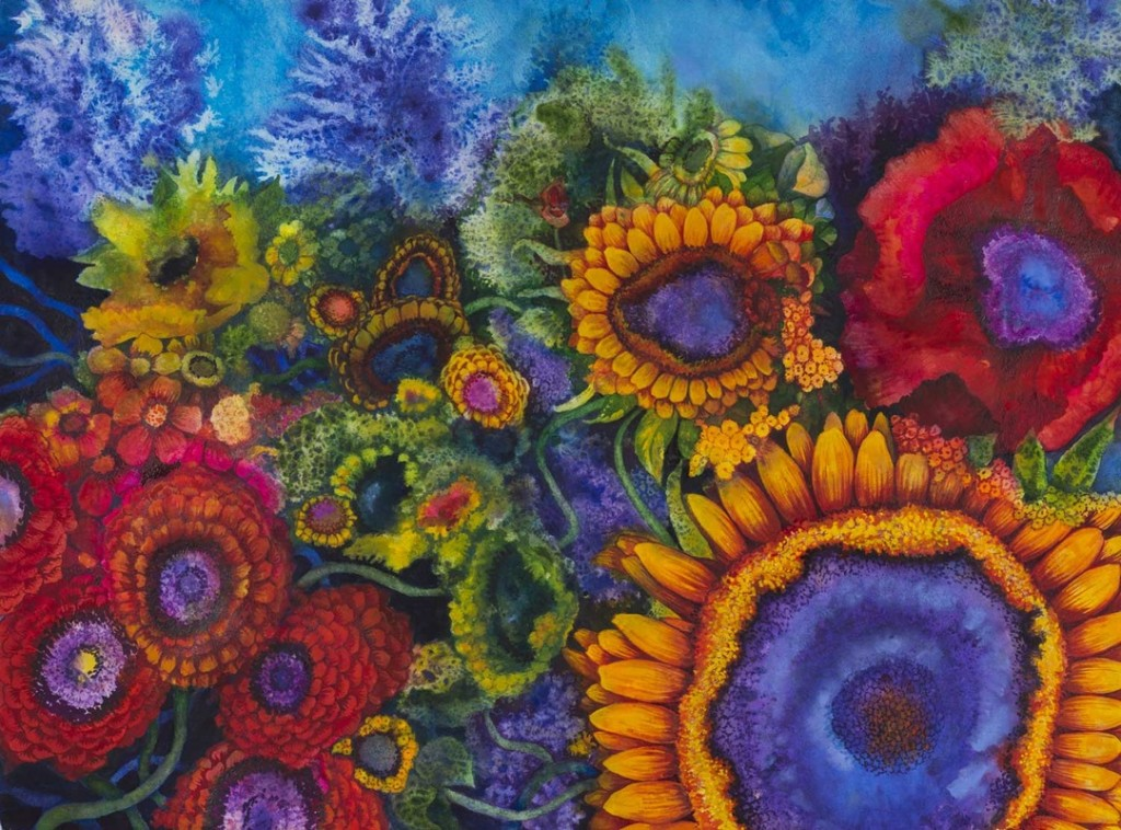 Silent Spring. Mary Kay Neumann & Helen Klebesadel, 22x30, watercolor