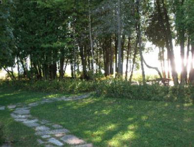 Björklunden grounds.